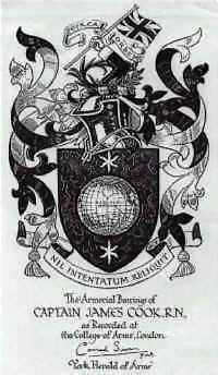 Cook's coat of arms