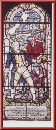 Memorial window, St-Cuthberts Church