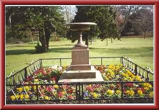 granite vase, stewart park, marton, middlesbrough